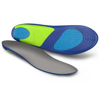 Dr. Scholl's insole close up
